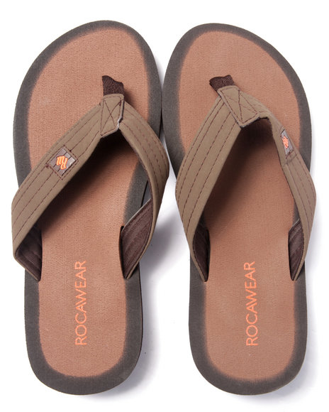 Ur-ID 216809 Rocawear - Men Bronze Rocawear Sandals