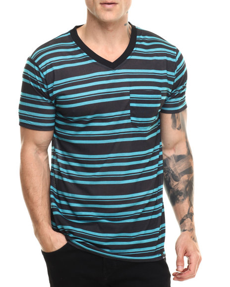 Basic Essentials Turquoise T-Shirts