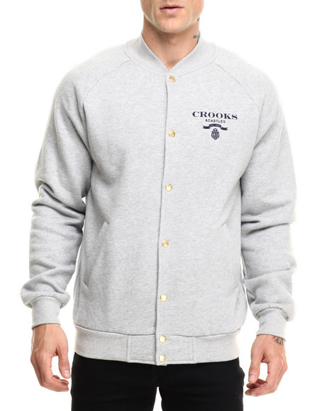 Ur-ID 216846 Crooks & Castles - Men Grey Represent Woven Jacket