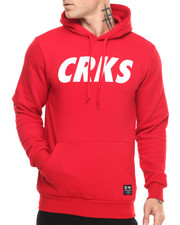 Pullover Sweatshirts - Team Crooks Hooded Pullover