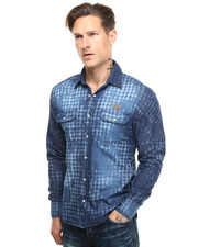 PRPS - Landscape Laserprint Buttondown