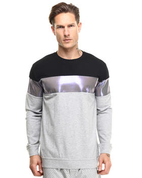 Men - Reflective Melange Sweatshirt