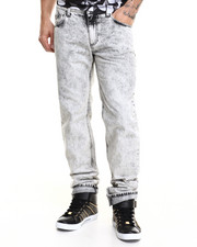 Denim - Smoked Acid Wash Jean