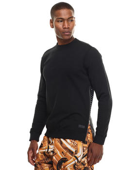 DJP OUTLET - Perforated Neoprene VENT Crewneck