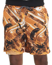 Men - ROOKIE MESH SHORTS BRONZE ENGINE