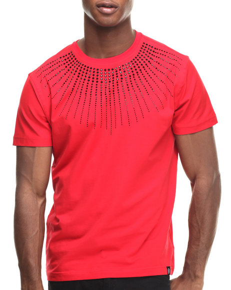Ur-ID 216949 Hudson NYC - Men Red Sun Stones S/S Tee