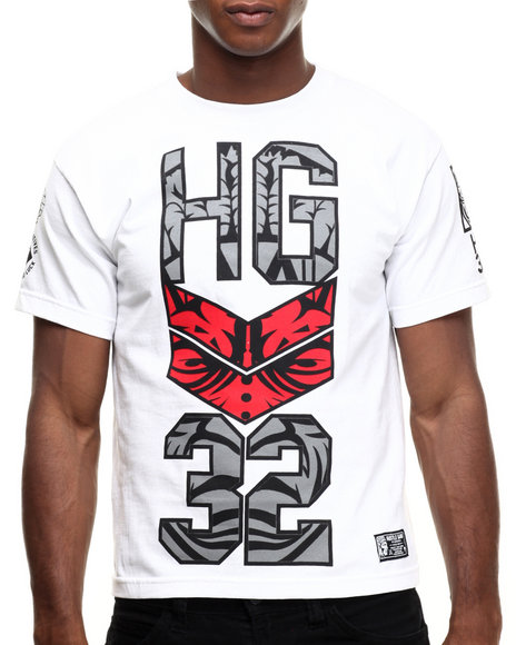 Hustle Gang - Men Red,White Hungergames Tee
