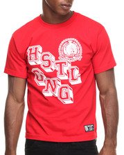 Hustle Gang - College Block Tee