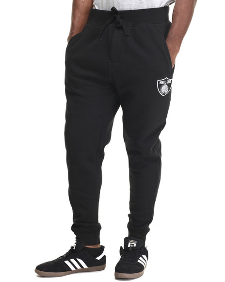 Ur-ID 215934 Hustle Gang - Men Black The Blitz Sweatpants