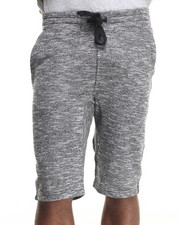 Men - Melange French Terry Jogger Shorts