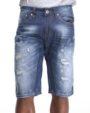 Men - Talking Blue wash denim Shorts