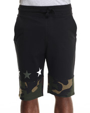 Men - Ringer camo Shorts