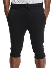 Men - Terry cloth capri shorts
