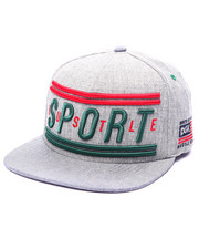 Men - Hustle Sport Snapback Cap