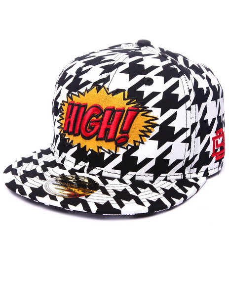 Dnine Reserve Men Comically High Strapback Multi