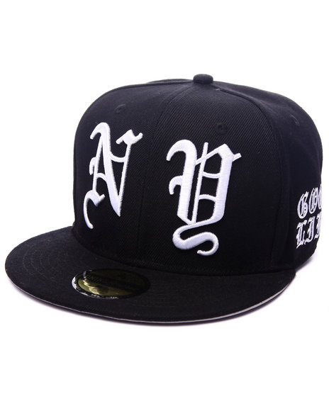Dnine Reserve Men Ole English Ny Snapback Black