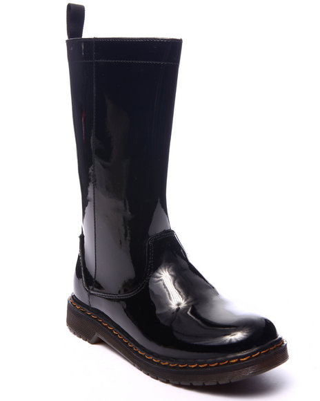 Fashion Lab - Women Black Jacklyn Rain Boot - $22.99
