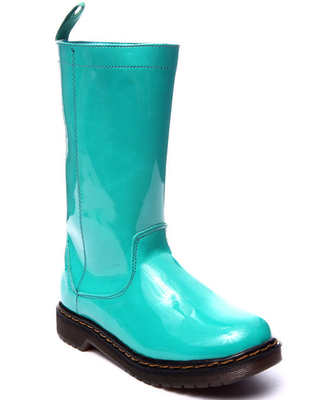 Fashion Lab - Women Turquoise Jacklyn Rain Boot - $38.99