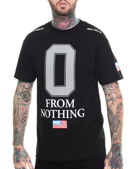Ur-ID 217033 DGK - Men Black Nothing Tee