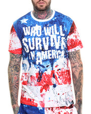 Men - Who Will Survive S/S Tee