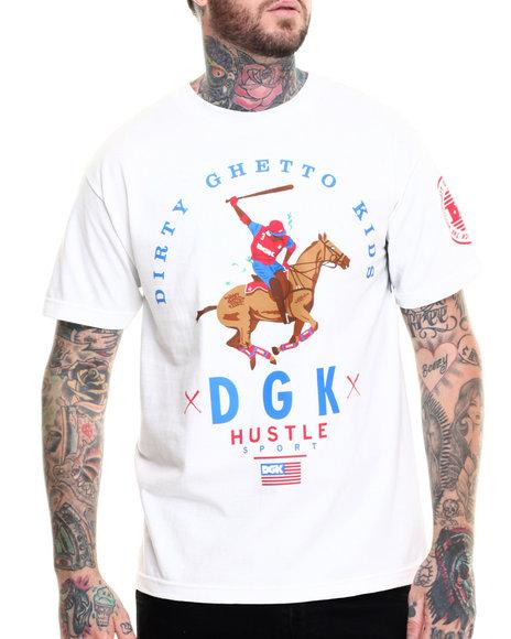 Ur-ID 217034 DGK - Men White Hustle Sport Tee