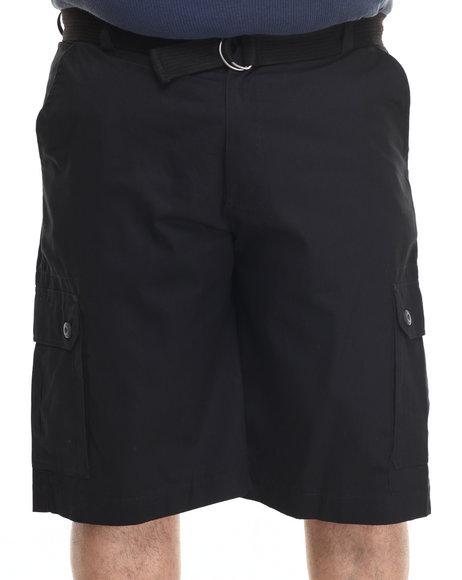 Ecko - Men Black Belted Twill Cargo Short (B&T)