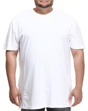 Men - Harlem E-longated fashion tee (side zip detail) (B&T)