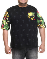 Men - Marshall Tropical Sleeve print s/s tee (B&T)