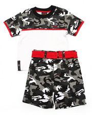 Sets - 2 PC CAMO SET (2T-4T)