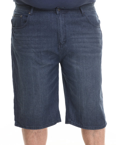 Akademiks - Men Indigo Whitehall Denim Shorts (B&T)