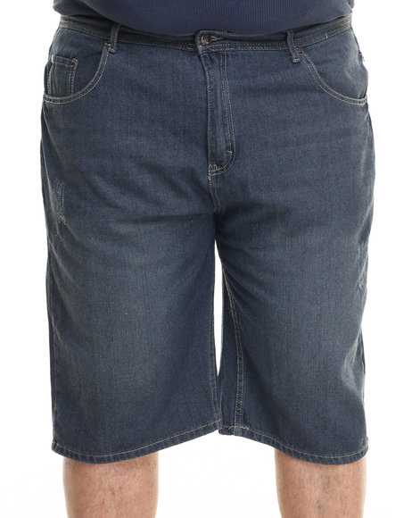 Akademiks - Men Indigo Rector Denim Shorts (B&T)