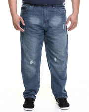 Basic Essentials - THICK-STITCH MONARCHY JEANS (B&T)