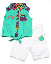 Sizes 4-6x - Kids - 2 PC BERMUDA SET (4-6X)
