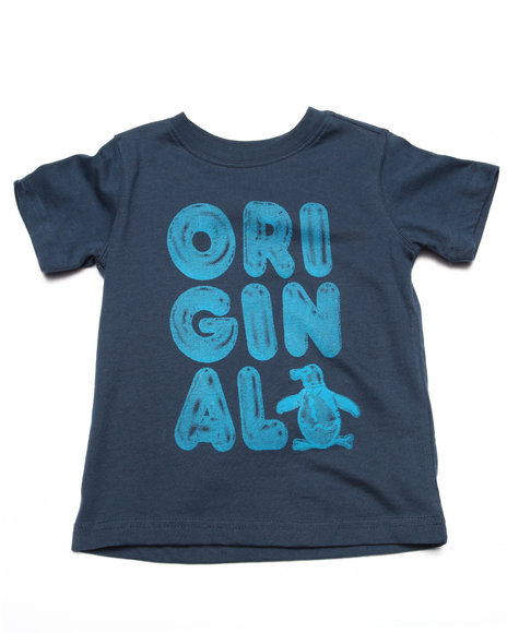Original Penguin - Boys Navy Original Tee (2T-4T)