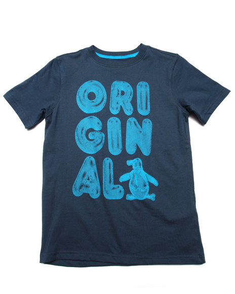 Original Penguin - Boys Navy Original Tee (8-20)