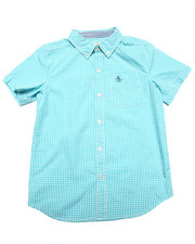 Button-downs - S/S GINGHAM SHIRT (8-20)