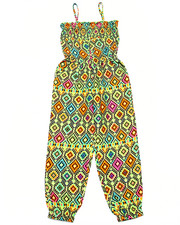 Sizes 4-6x - Kids - GEO PRINT JUMPSUIT (4-6X)