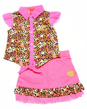 Sizes 4-6x - Kids - 2 PC SKIRT SET (4-6X)