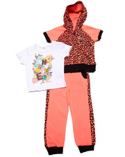 Girls - 3 PC JOGGER SET (2T-4T)