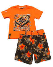 Boys - 2 PC HAWAIIAN SHORT SET (2T-4T)