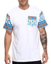 Basic Essentials - Aztec - Print Pocket S/S Tee