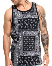 Basic Essentials - Bandana - Print Tank Top