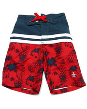 Boys - PINEAPPLES BOARD SHORTS (4-7)