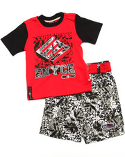 Enyce - 2 PC TROPICAL SHORTS SET (2T-4T)