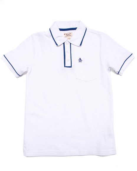 Original Penguin - Boys White The Earl Polo (8-20) - $17.99