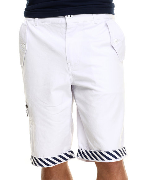 Ur-ID 217096 Born Fly - Men White Primus Shorts