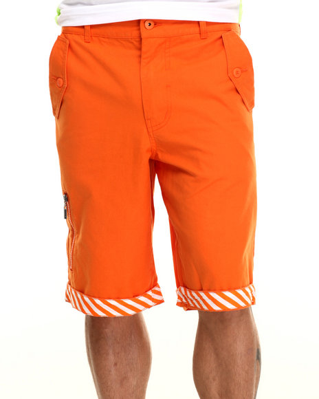 Ur-ID 217098 Born Fly - Men Orange Primus Shorts