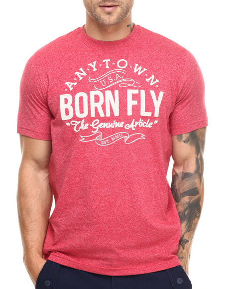 Ur-ID 217110 Born Fly - Men Red Caesar Tee