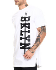 Akademiks - BK E-longated side zipper s/s tee