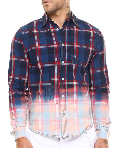 Ur-ID 217097 Born Fly - Men Navy Dargmann L/S Button-Down